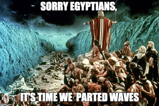 Sorry Egyptians, it's time we parted waves.