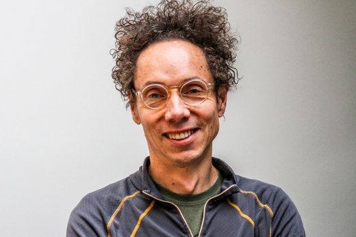 Malcomb Gladwell has crazy hair